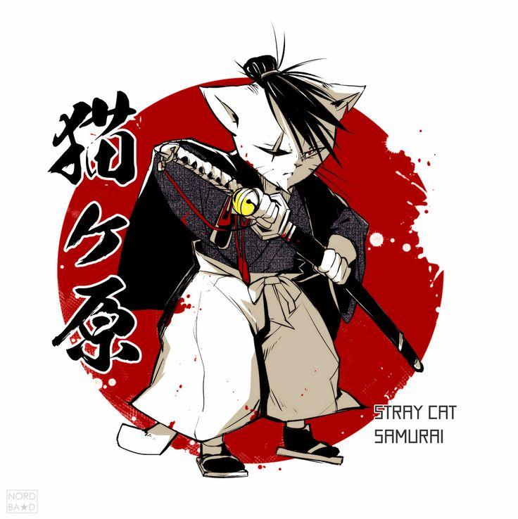 Artist #NORDBASTARD  NEKOGAHARA #bell #blade #blood #samurai #猫 #刀 #血液 #ベル #サムライ #nekogahara #straycatsamurai #猫ヶ原