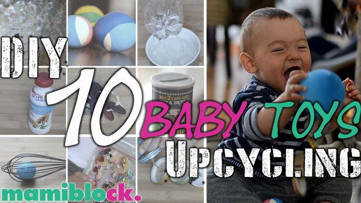 10 Babyspielzeuge kostenlos und schnell selbst gemacht   DIY und Upcycli...