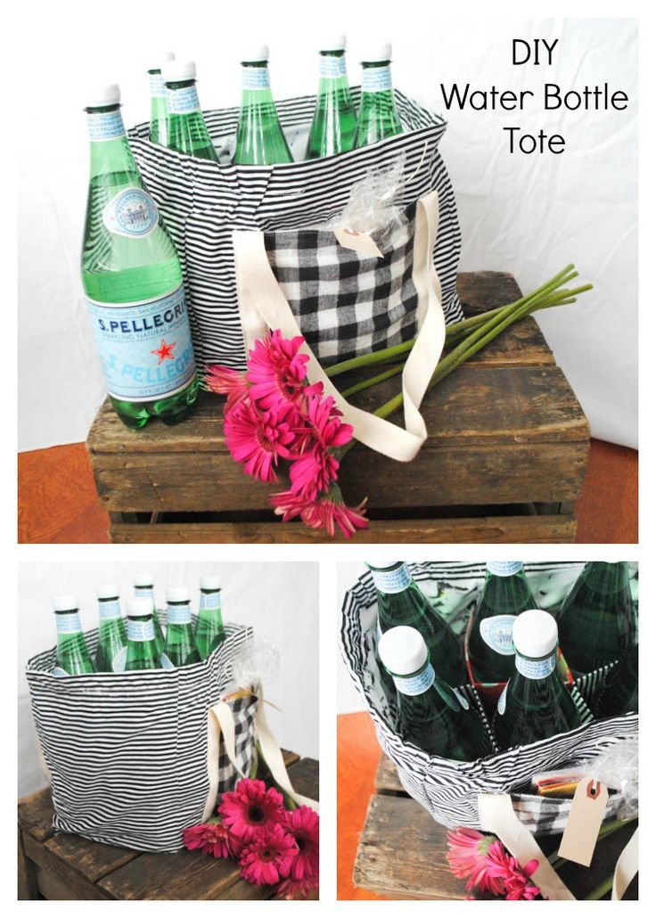 Radiant Home Water Bottle Tote Pattern