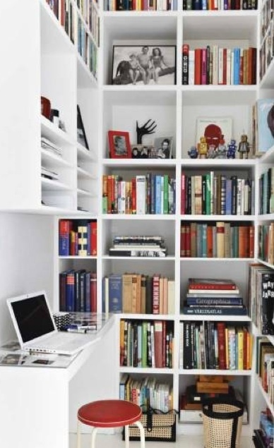 home library in a small space home sweet home