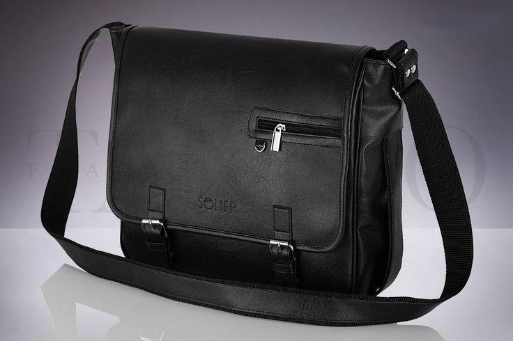 Pánská taška přes rameno - Padova, černá