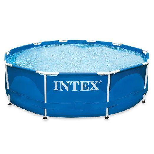Good Intex Aufstellpool Frame Pool Set Rondo ohne Filterpumpe Blau x