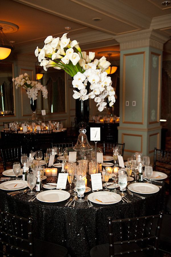 Best 25+ Black tablecloth wedding ideas on Pinterest ...