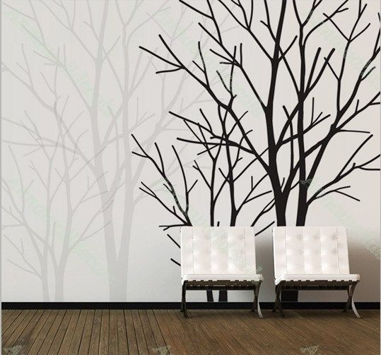 2 Lover Tree Wall Decals Nature Wall Decals By Annaandnana On Etsy, $79.00 Part 30