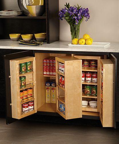 WOLF Designer Cabinets Base Organizer #storage #design