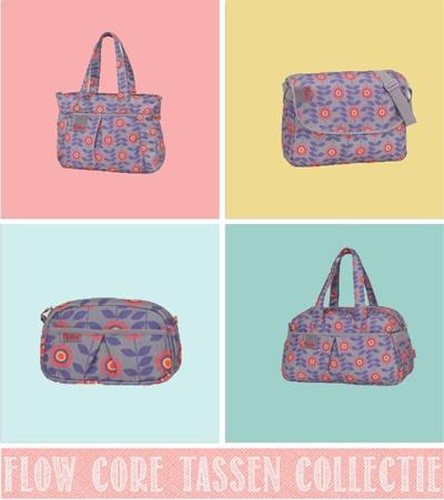 Cadeauwinkel Webshop Juffrouw zonder Zorgen Haarlem::Blog::Flow tassen collecties