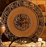 117 Best Home Decor Decorative Chargers Plates Images On Pinterest Decorative Plates Dish