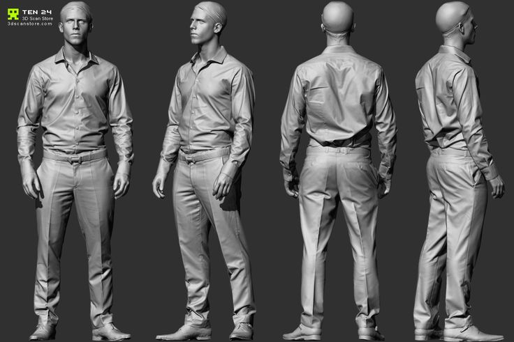 http://www.zbrushcentral.com/showthread.php?173890-Reference-Character-Models/page7