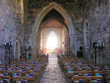 The Abbey Church on the Isle of Iona, Scotland, uncredited