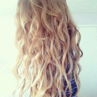 Beach Wave Perm Long Hair