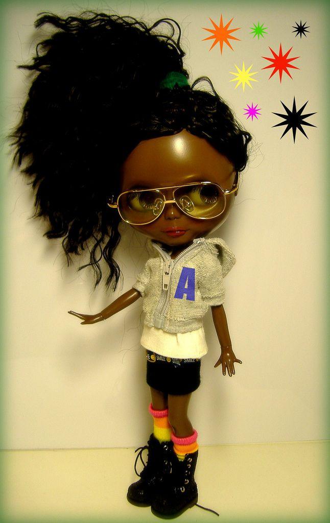 Blythe Doll Aliyah in shades (Blythe)