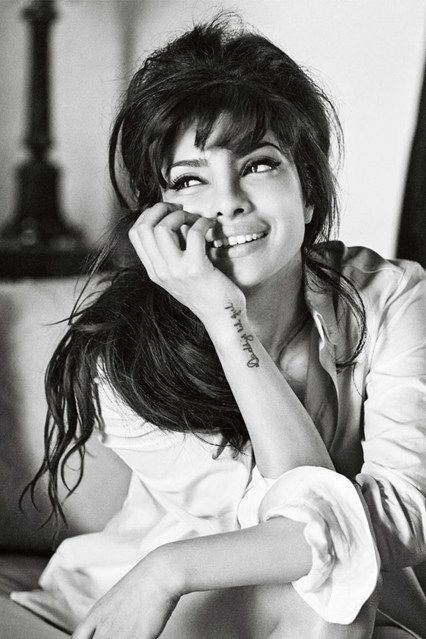 Priyanka Chopra, the first First Indian Guess Girl on diversity in the fashion industry - Celebrity news & gossip as and when it happens - online at Glamour.com. Keep up to date with all your favourite celebrities.