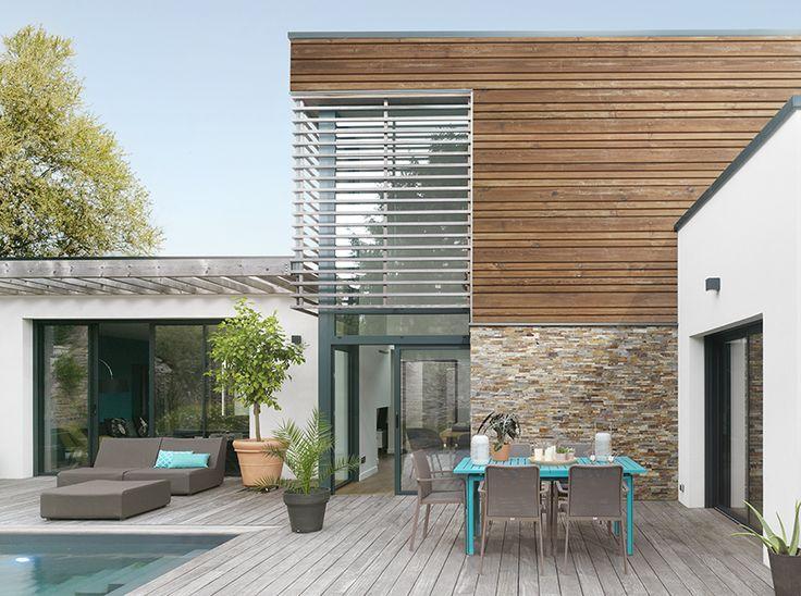 34 best Maison version Bois images on Pinterest | Homes ...