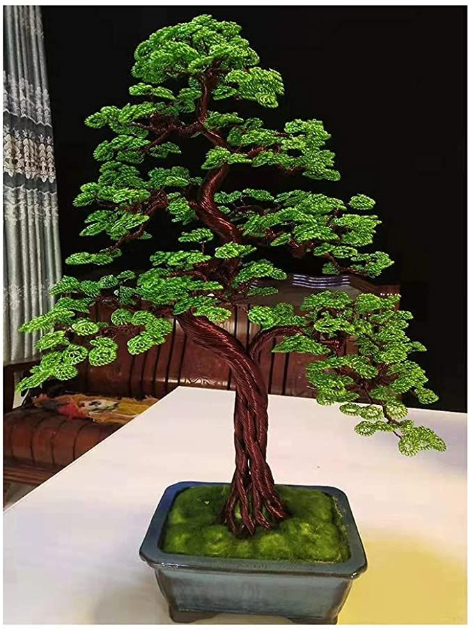 Sxgky Decor Lucky Tree Artificial Bonsai Tree Of Life Ornament Bonsai Trees Feng Shui Tree For House Warming In 2020 Feng Shui Tree Bonsai Tree Fairy Lights In Trees