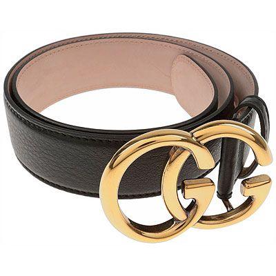 Cinturones de Gucci y de otros diseñadores.