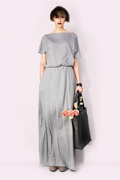 Sukienka maxi z kieszeniami  w Kasia Miciak design na DaWanda.com  #niezchinzpasji