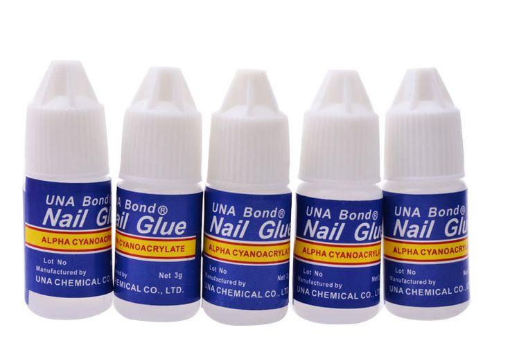 False Nail Art Gel Nail Decoration Tips Glue Fast Drying Acrylic Glue 3g Manicure Size Kit Set 1Pcs 1 Pcs