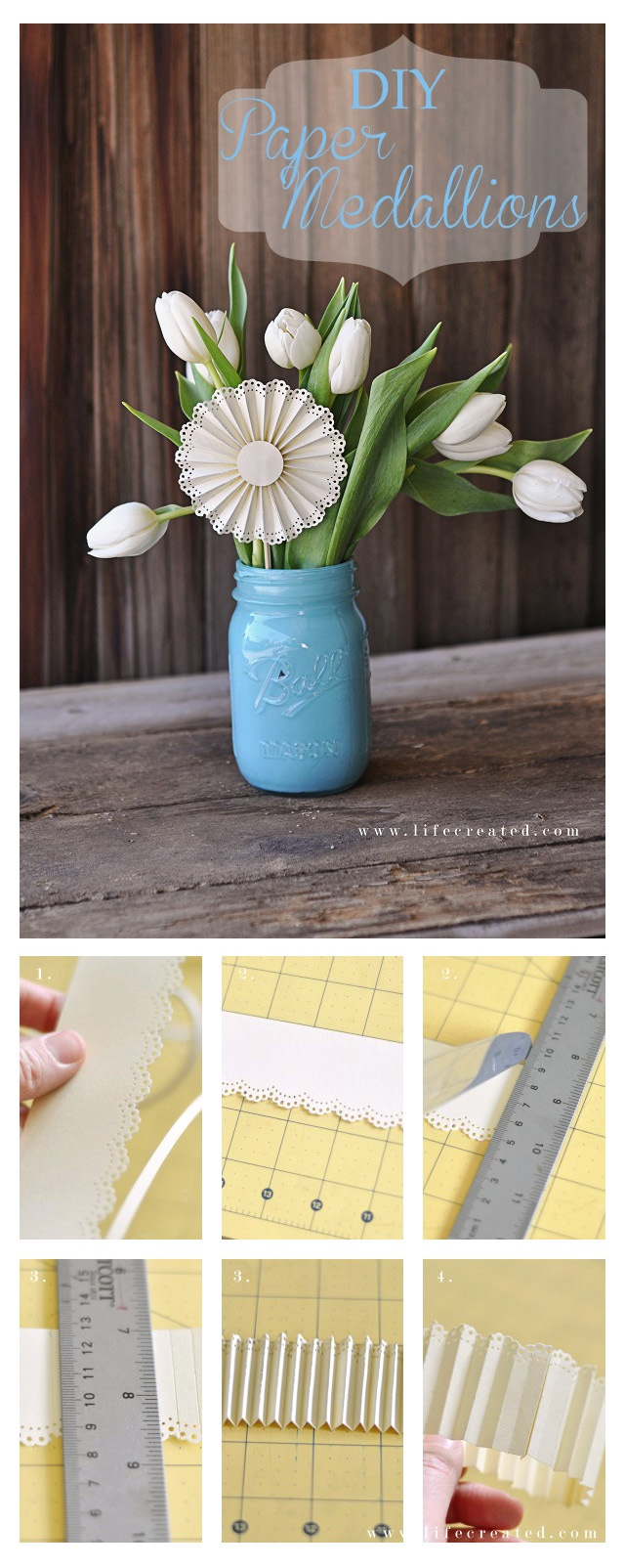 How to make Paper Medallions