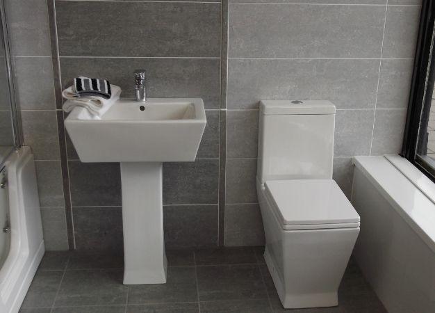 bathroom grey tiles google search
