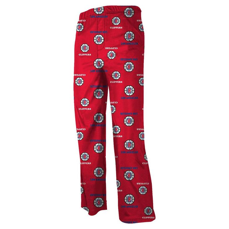 Boys 8-20 Los Angeles Clippers Printed Lounge Pants, Size: Xl(18/20), Ovrfl Oth