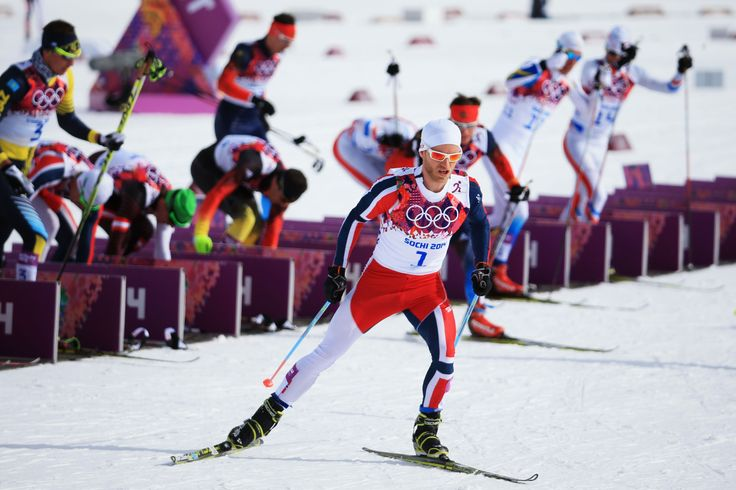 Martin Johnsrud Sundby of Norway competes in the Men's