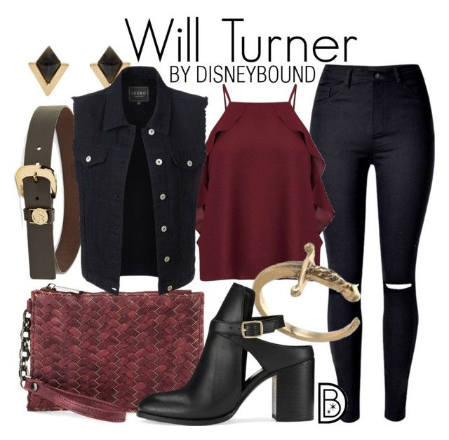 """Will Turner"" by leslieakay ❤ liked on Polyvore featuring Accessorize, WithChic, Miss Selfridge, MICHAEL Michael Kors, Neiman Marcus, LE3NO, disney, disneybound and disneycharacter"