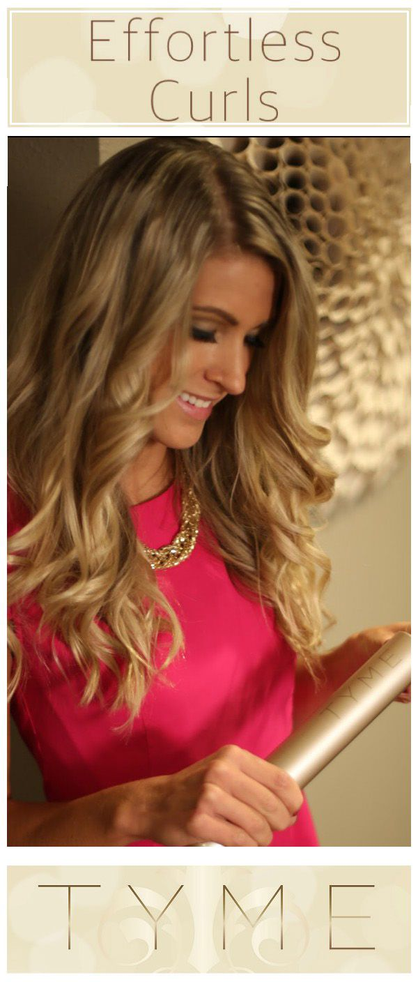 The TYME Iron is a revolutionary hair tool that allows you to curl and straighten your hair! Create effortless curls in under 10 minutes. FREE SHIPPING! 30 day money back guarantee! Free one on one video tutorials over FaceTime! #styletyme Discover endless hairstyle possibilities with your TYME Iron today! WWW.TYMEHAIR.COM