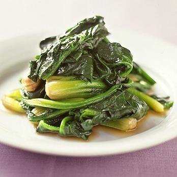 ほうれん草のオイスター炒め | 藤井恵さんのおつまみの料理レシピ | プロの簡単料理レシピはレタスクラブニュース