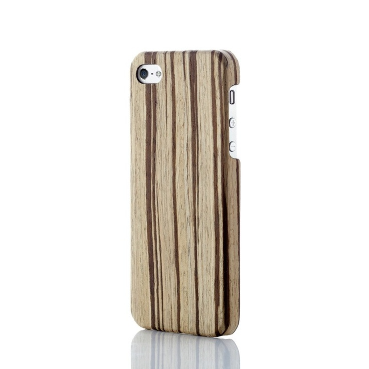Evouni Ultra-Slim Wooden Case for iPhone 5 - Hazel