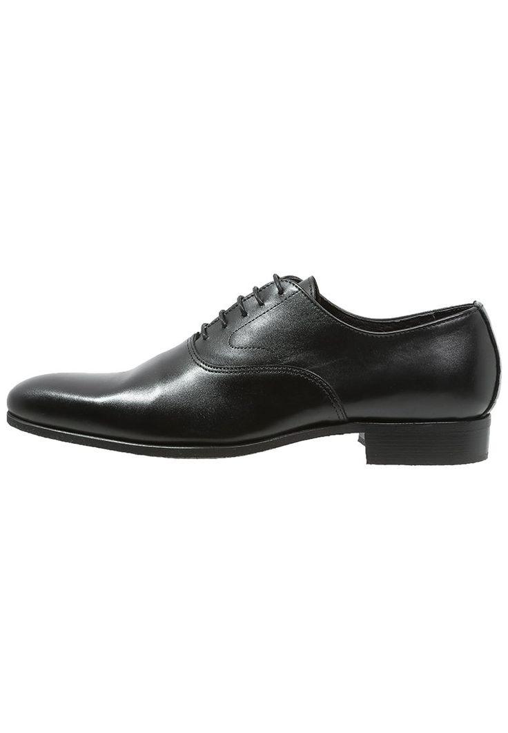 Baxton VILLANDRY Eleganckie buty noir 454.30zł #moda #fashion #men #mężczyzna #baxton #villandry #eleganckie #buty #sznurowane #męskie #noir #czarny #black #skóra