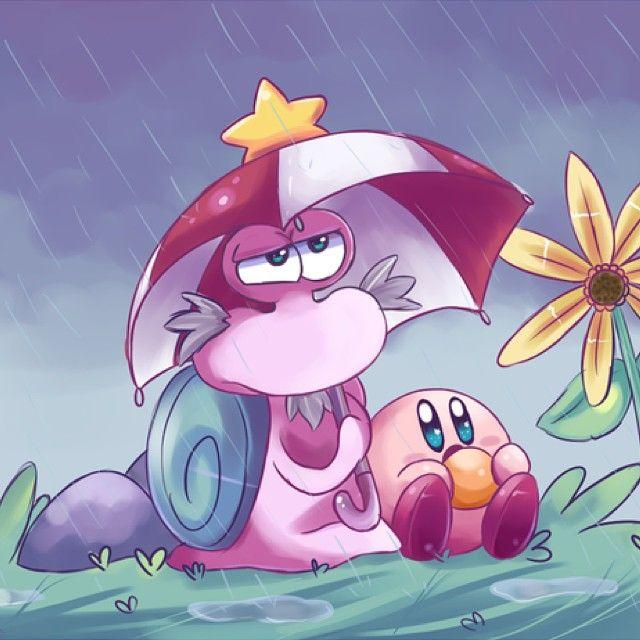 """⭐Day 12: Escargoon from """"Hoshi no Kaabii"""" and """"Kirby Right Back at Ya!"""" Isn't that cute!  #kirby #millionkirbymarch #nin10do #nintendo #ninstagram #hoshinokaabii #kirbyrightbackatya ⭐"""
