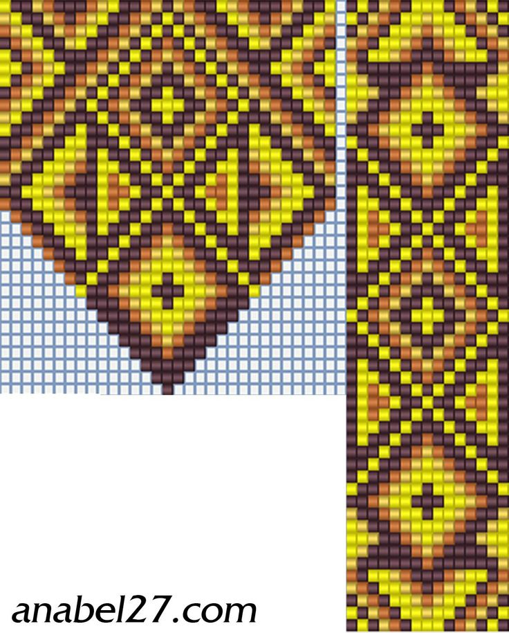 cross stitch beading instructions