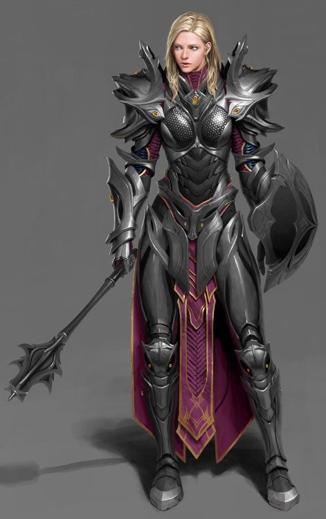 OMG she actually has proper armor on!!! See, that's the kind of armor all female warriors need.