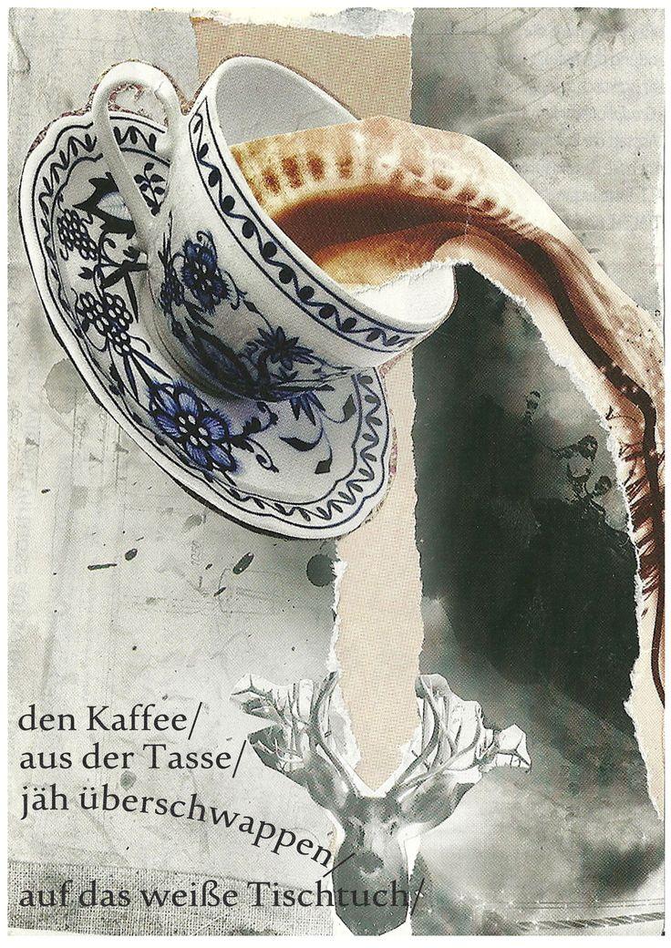 Völlerei-Collage