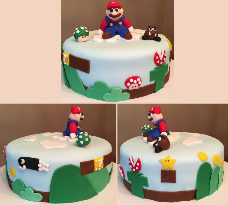 Phil's Birthday Super Mario Cake