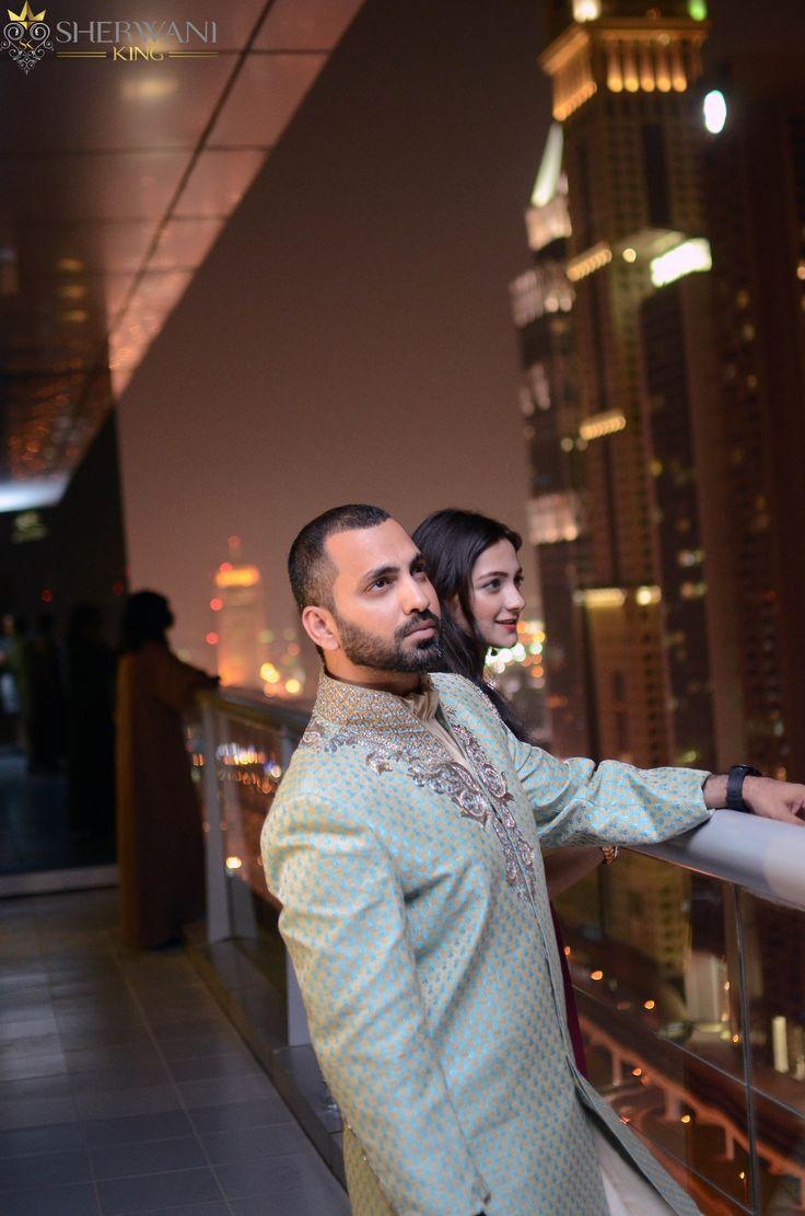 Looking dapper in the Rafi Sherwani  #sherwani #sherwaniking #indiangroom #indianwedding #pakistanigroom #pakistaniwedding #shaadi