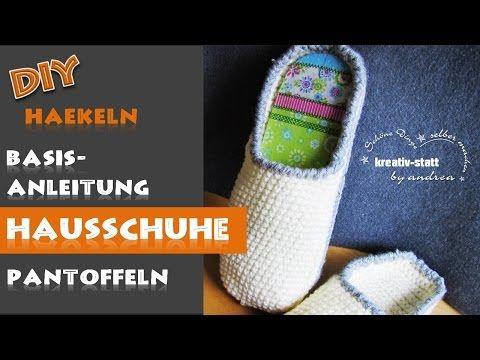 11 best Sohlen für Hausschuhe images on Pinterest | Diy häkeln ...