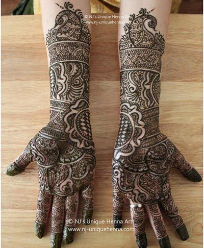 Mehndi Designs For Arms