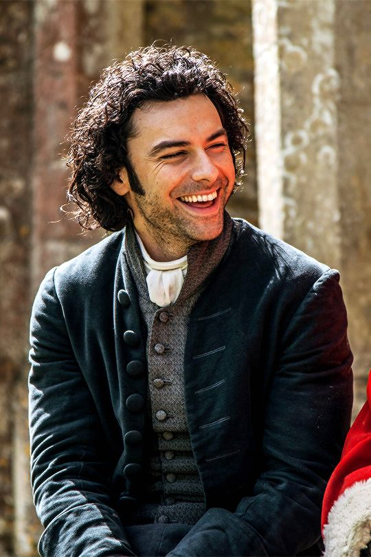 Poldark 2015 - Ross Poldark (Aiden Turner) (Love this character and Aidan has such a great smile! Love it!)