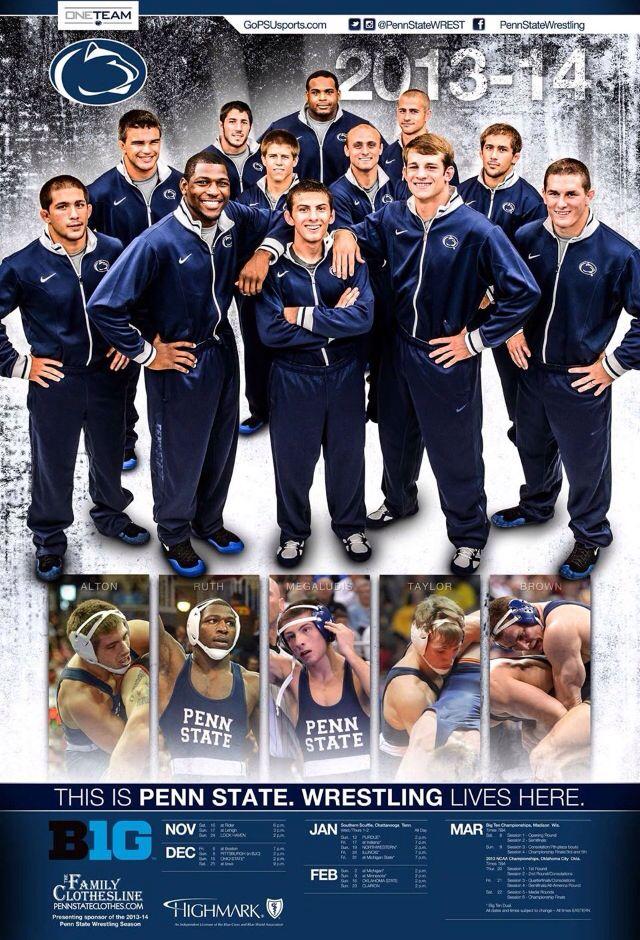 2013-2014 Penn State Wrestling