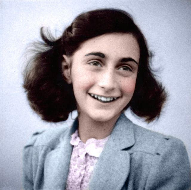 what a life...this girl is so admirable...and brave...wish I knew her :( Anne Frank