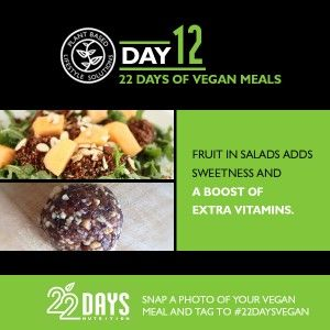 Day 12: 22 Days of Vegan Meals