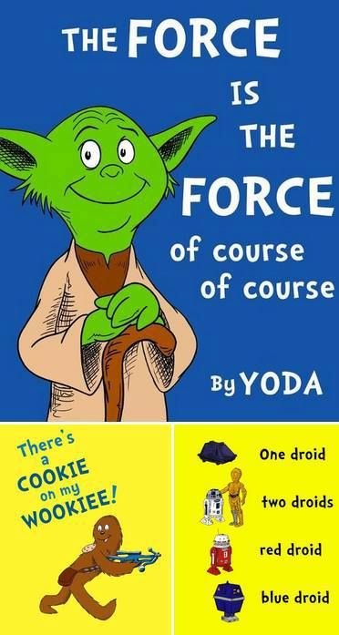Yoda does Dr. Suess