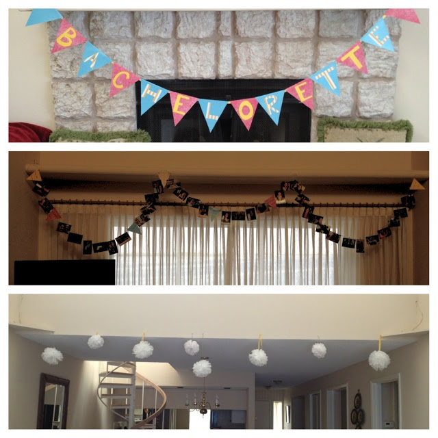 Come What May: DIY Bachelorette Party Decorations Tutorials