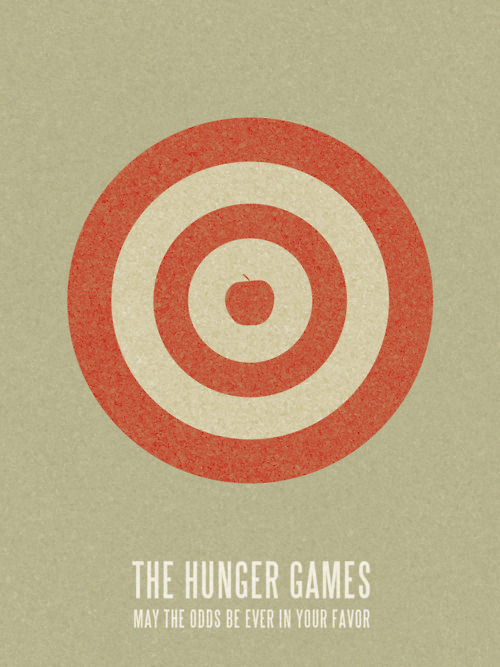 The Hunger Games simple movie poster