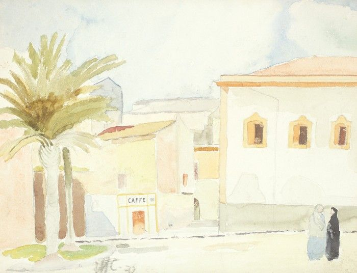 Henri H. Catargi, Peisaj mediteraneean