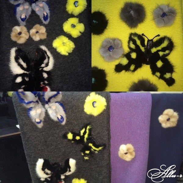 Уникальные аксессуары из натурального меха и кожи Allu-r
