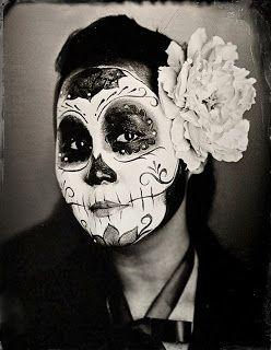 Sugar Skull Halloween Costume Plus Size