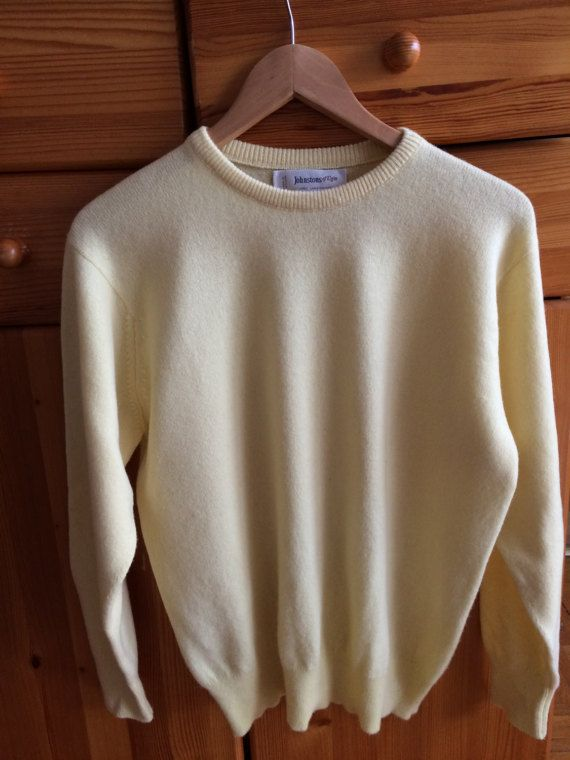 Man 100% lambswool vintage sweater hipster pullover