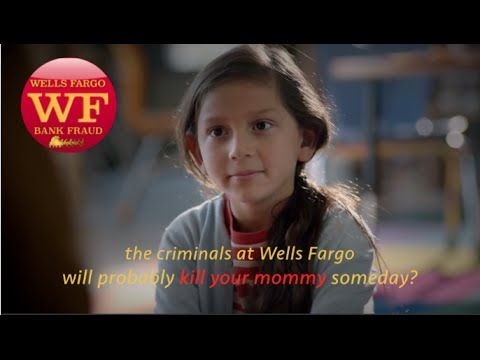 The commercial that Wells Fargo DIDN'T want you to see. Why? Find out at: http://wf-bank-fraud.blogspot.com